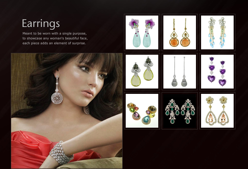 Earrings - Jewelry by Rosalina, Inc.