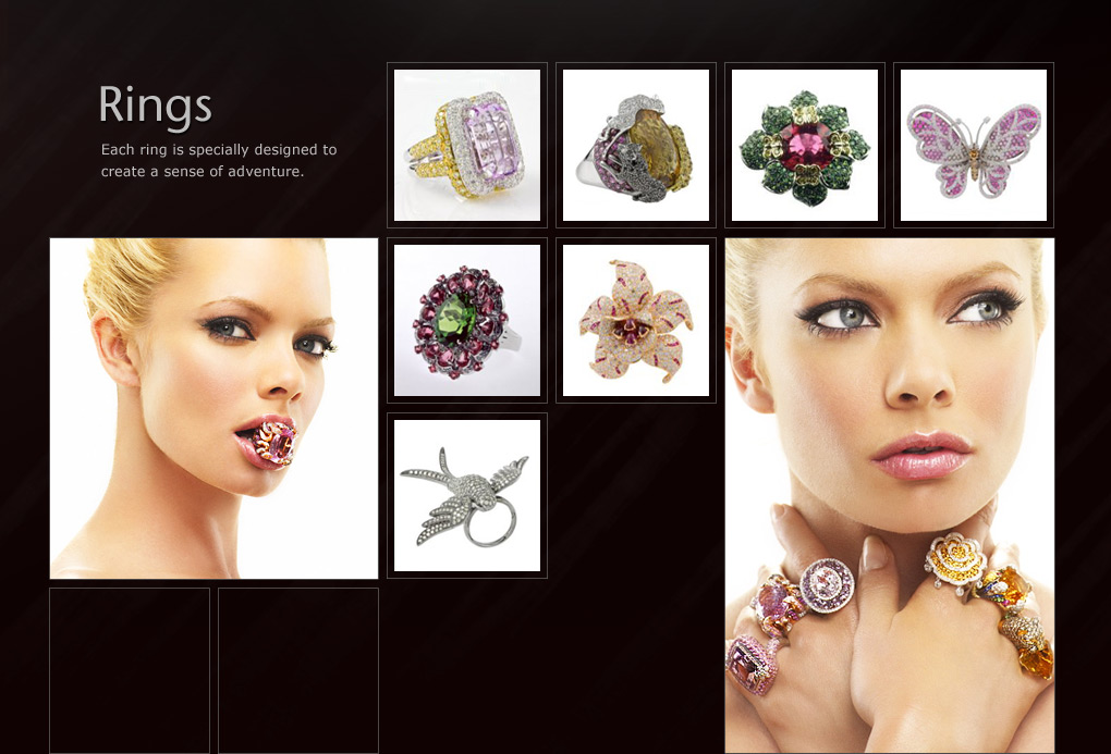 Ring Collection - Jewelry by Rosalina, Inc.